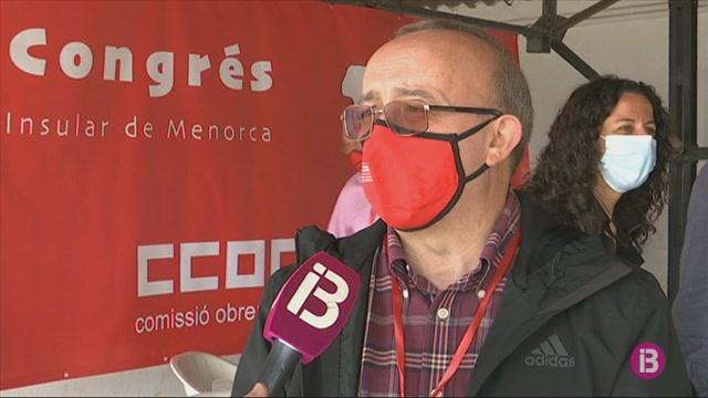 Antonio+Soria%2C+reelegit+secretari+general+de+Comisions+Obreres+de+Menorca