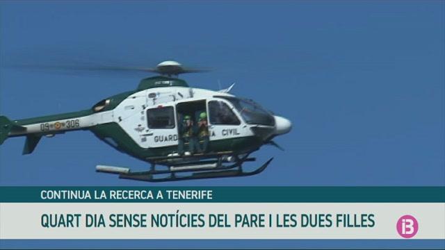 Quart+dia+de+recerca+del+pare+i+les+seves+dues+filles+desapareguts+a+Tenerife