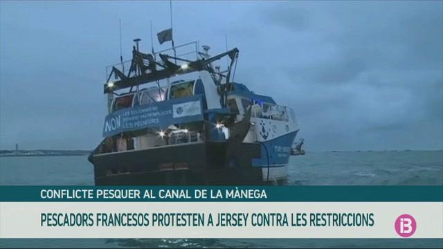 Pescadors+francesos+protesten+a+Jersey+per+les+restriccions+a+la+pesca
