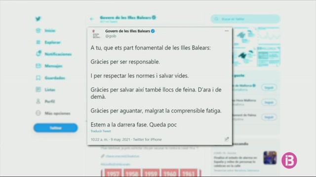 El+Govern+agraeix+la+responsabilitat+dels+ciutadans+a+Twitter