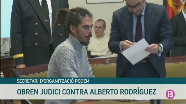 El+Tribunal+Suprem+obre+judici+contra+el+secretari+d%27Organitzaci%C3%B3+de+Podem+Alberto+Rodr%C3%ADguez