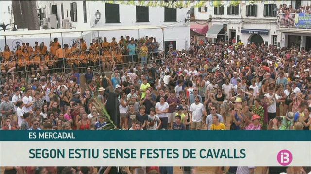 Es+Mercadal+cancel%C2%B7la+tamb%C3%A9+les+festes+amb+cavalls+de+Sant+Mart%C3%AD+i+Sant+Antoni