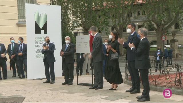 Els+reis+Felip+i+Letizia+inauguren+el+Centre+Memorial+de+les+V%C3%ADctimes+del+Terrorisme+a+Vit%C3%B2ria