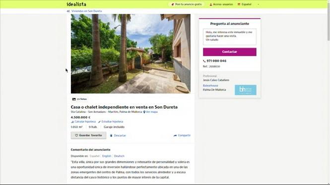 Cursach+posa+a+la+venda+casa+seva+per+4%2C5+milions+d%27euros