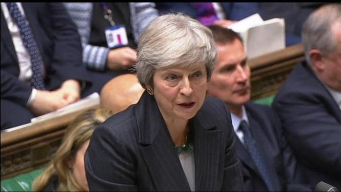 Theresa+May%3A+%E2%80%9CUna+moci%C3%B3+de+censura+podria+frustrar+el+Brexit%E2%80%9D