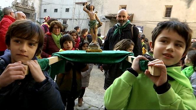 La+Confraria+de+Sant+Sebasti%C3%A0+ja+celebra+la+festa+del+patr%C3%B3+de+Palma+amb+Sant+Tianet