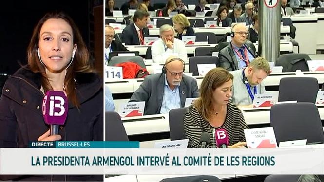 Armengol+reclama+a+Brussel%C2%B7les+m%C3%A9s+mesures+compensat%C3%B2ries+per+a+les+regions+insulars