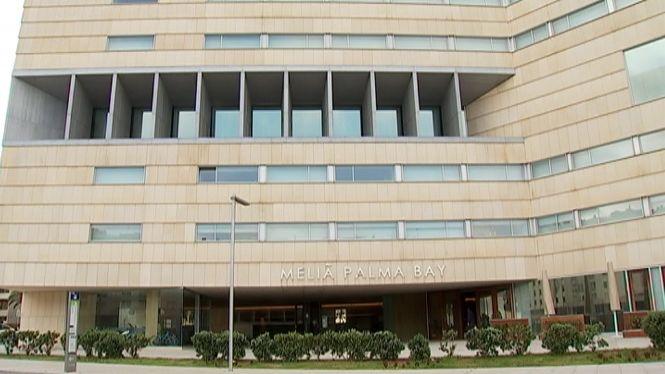 Arriben+els+primers+5+pacients+amb+COVID-19+a+l%27hotel+Meli%C3%A0+Palma+Bay