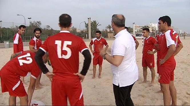 El+Sant+Francesc+debuta+avui+a+la+Lliga+nacional+de+futbol+platja