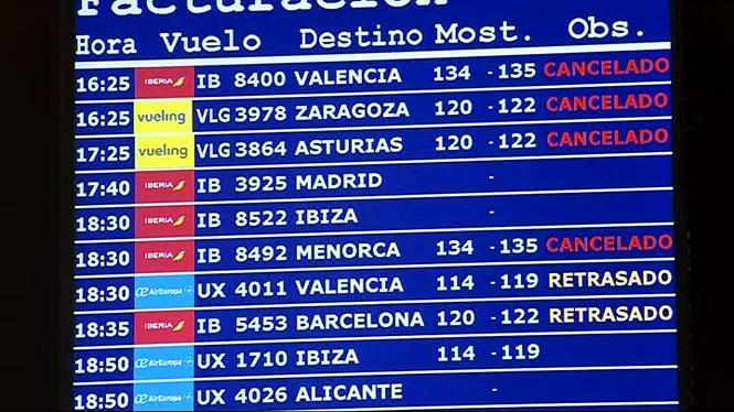 Cancel%C2%B7lats+a+Palma+un+16%25+dels+vols+programats