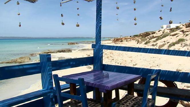 Reobren+els+quiosquets+de+platja+a+Formentera