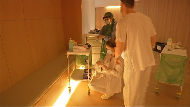 Es+mantenen+els+circuits+separats+als+centres+de+salut+i+als+hospitals+de+les+Illes