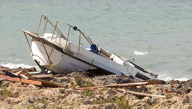 Barques+varades+a+la+badia+de+Portmany+per+mor+del+vendaval