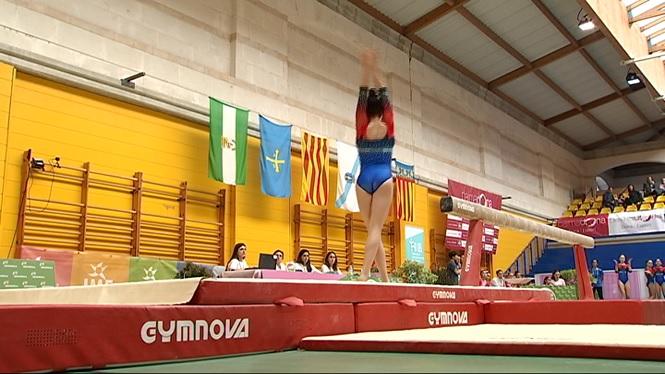 Bon+paper+del+Palma+i+el+Grech+a+la+segona+jornada+de+la+Lliga+Iberdrola+de+gimn%C3%A0stica