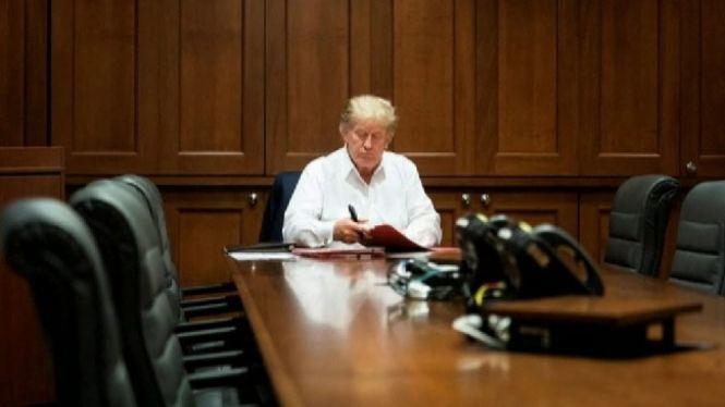 Donald+Trump+podria+rebre+l%27alta+hospital%C3%A0ria+aquest+dilluns