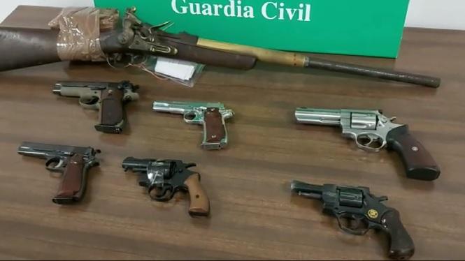 Detingut+a+Palma+per+tenir+armes+de+foc+sense+llic%C3%A8ncia