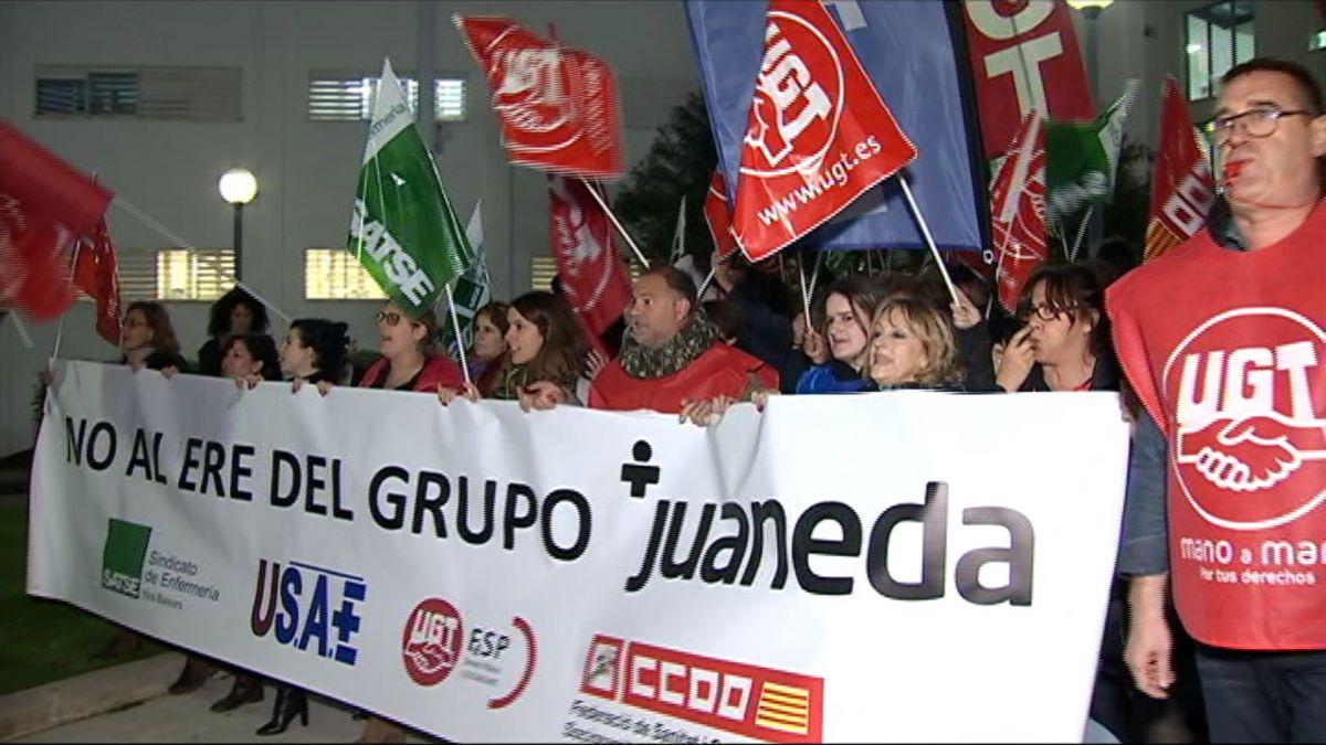 La+cl%C3%ADnica+Juaneda+ser%C3%A0+l%27empresa+m%C3%A9s+afectada+per+l%27ERO+del+seu+grup