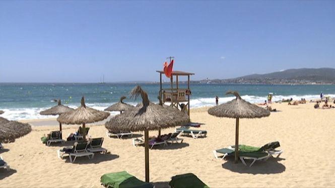 Arrenca+amb+la+prohibici%C3%B3+al+bany+el+servei+de+salvament+a+les+platges+de+Palma