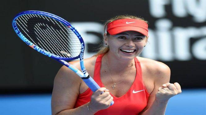 Maria+Sharapova+est%C3%A0+entrenant+a+Santa+Pon%C3%A7a+i+podria+participar+en+el+Mallorca+Open