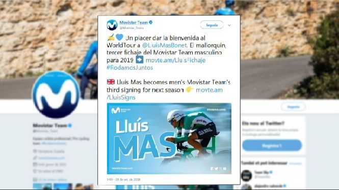 Llu%C3%ADs+Mas+fitxa+pel+Movistar