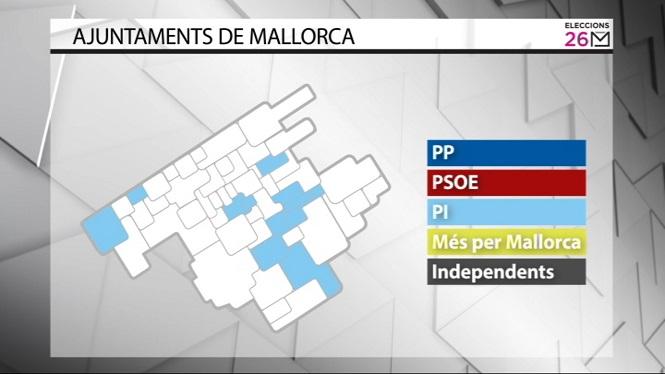 El+Pi+governa+a+11+municipis+de+Mallorca