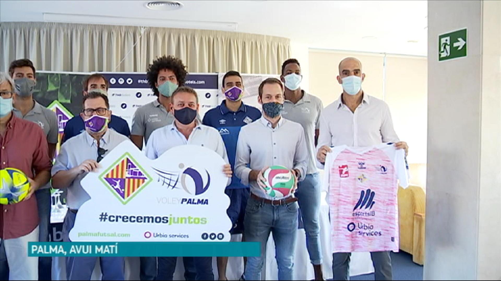 L%27Urbia+V%C3%B2lei+Palma+es+fusiona+amb+el+Palma+Futsal