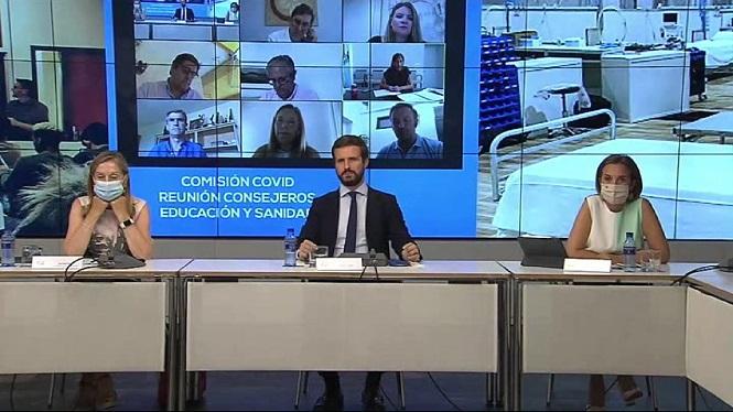 Casado+reuneix+telem%C3%A0ticament+els+consellers+de+Sanitat+i+Educaci%C3%B3