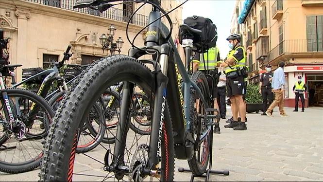 La+Policia+Local+de+Palma+estrena+15+bicicletes+el%C3%A8ctriques