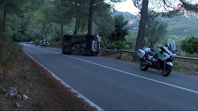 Accident+a+la+carretera+que+uneix+Pollen%C3%A7a+amb+Lluc