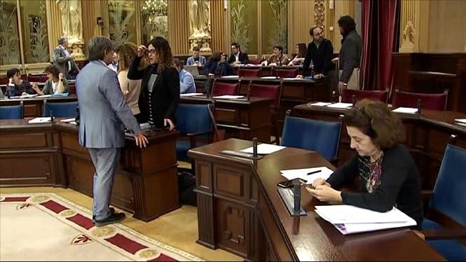 Setmana+marcada+pels+pressupostos+al+Parlament
