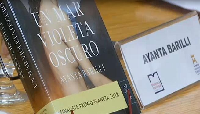 Una+finalista+del+Premi+Planeta%2C+a+la+biblioteca+de+Can+Ventosa