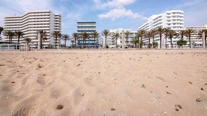 Hotels+a+punt+a+la+Platja+de+Palma+per+als+primers+turistes+alemanys