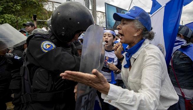 Dos+ferits+a+Nicaragua+pels+enfrontaments+entre+policia+i+manifestants