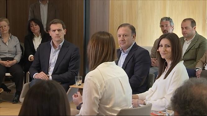 Albert+Rivera+vol+a+Joan+Mesquida+com+a+ministre+de+l%27Interior+en+el+seu+Govern
