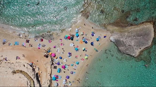 La+fase+2+a+les+platges+de+les+Balears%2C+vista+des+de+l%27aire