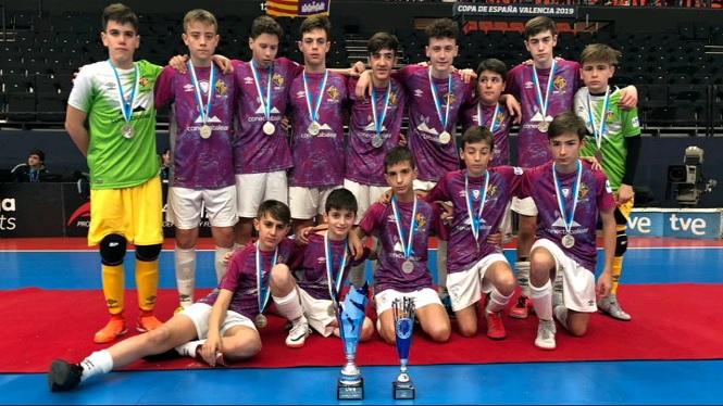 El+Palma+Futsal+infantil+perd+la+final+de+la+Minicopa+per+un+gol