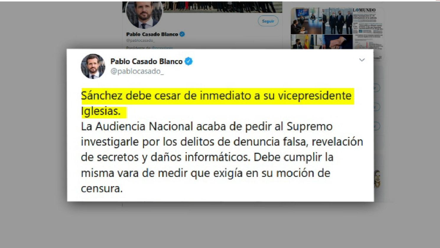 El+PP+demana+el+cessament+immediat+de+Pablo+Iglesias+pel+Cas+Dina