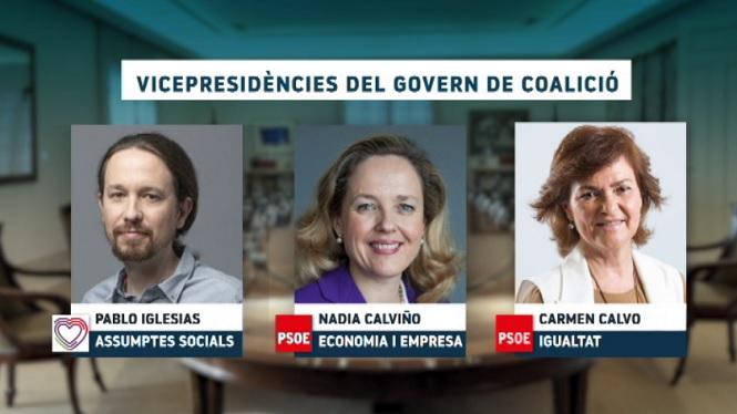 El+govern+de+coalici%C3%B3+entre+PSOE+i+Podem+inclou+una+vicepresid%C3%A8ncia+per+a+Iglesias