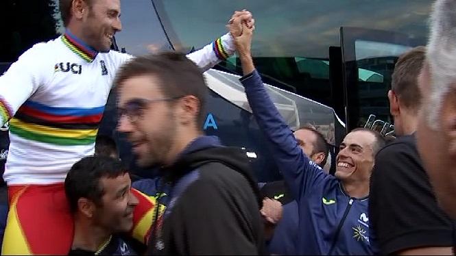 Alejandro+Valverde%2C+or+al+Mundial+d%27Innsbruck