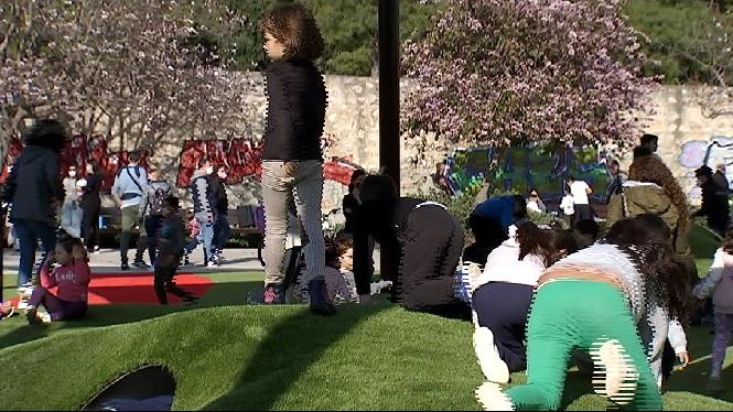 Gran+acollida+del+primer+parc+infantil+inclusiu+de+Palma