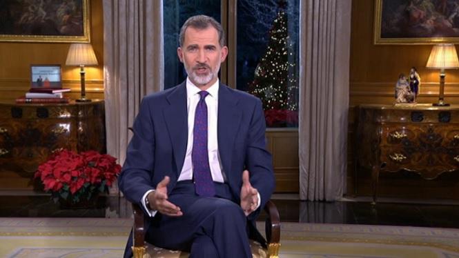 El+rei+Felip+VI+oferir%C3%A0+el+sis%C3%A8+missatge+de+Nadal+d%27en%C3%A7%C3%A0+que+va+ser+proclamat