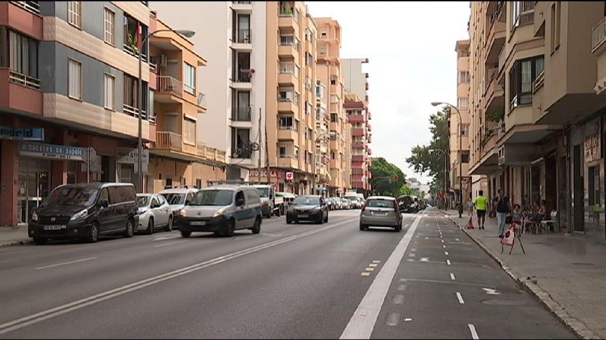 El+Partit+Popular+de+Palma+critica+el+nou+tram+de+carril+bici+del+Camp+Red%C3%B3