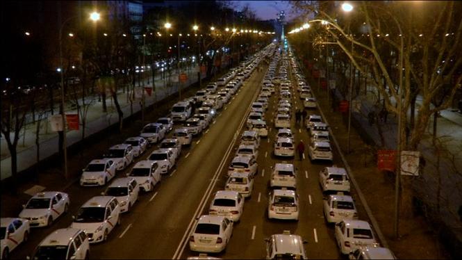 Reuni%C3%B3+entre+la+Comunitat+de+Madrid+i+taxistes+per+tractar+de+desencallar+el+conflicte