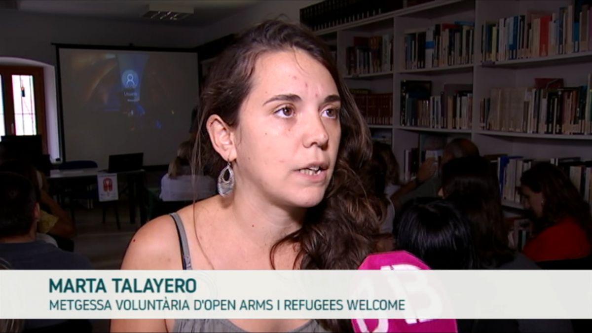 Una+metgessa+i+una+psic%C3%B2loga+expliquen+la+seva+feina+amb+els+refugiats+rescatats+a+la+Mediterr%C3%A0nia