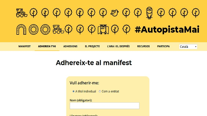 Els+antiautopistes+demanen+a+la+societat+que+firmi+el+manifest+contra+l%26apos%3Bautovia+Llucmajor-Campos