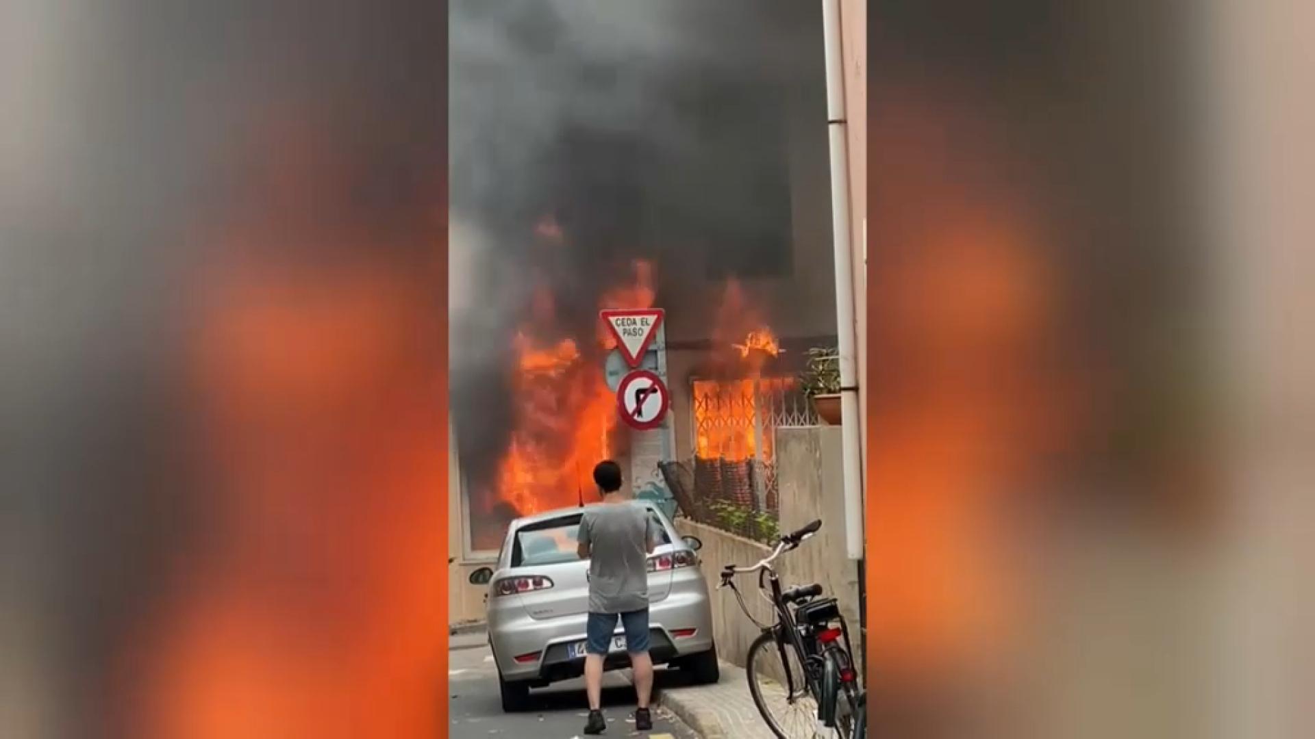 Un+incendi+crema+una+bugaderia+de+Capdepera