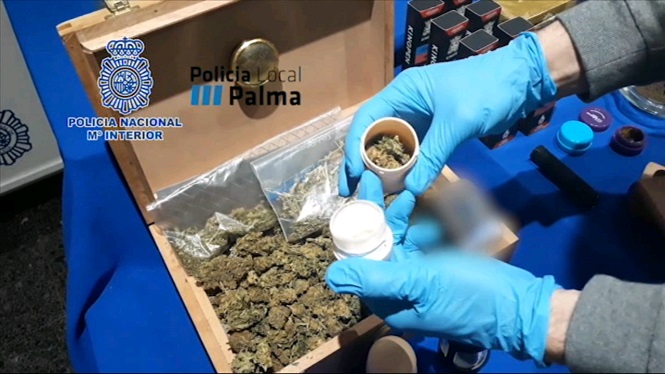 Desmantellats+dos+punts+de+venda+de+droga+a+Palma