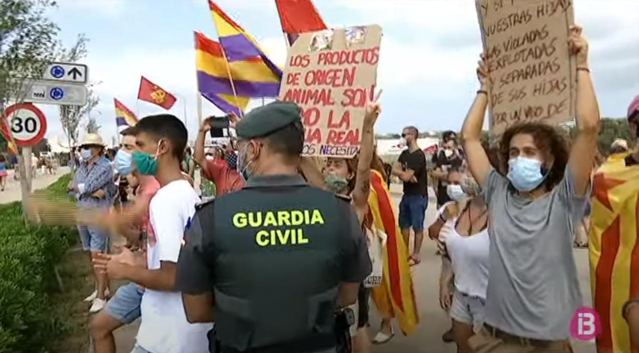 Concentracions+a+favor+i+en+contra+de+la+monarquia+durant+la+visita+dels+reis+a+Menorca