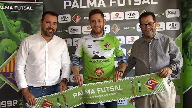 El+Palma+presenta+Rafa+L%C3%B3pez+i+prepara+el+comiat+de+Taffy