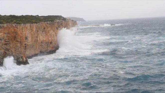 El+temporal+mant%C3%A9+sota+alerta+taronja+les+Balears